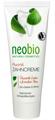 Neobio Fogkrém Fluoriddal Bio Zsályával és Mentával