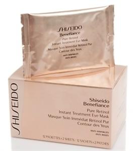 Shiseido Benefiance Pure Retinol Instant Treatment Eye Mask