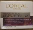 L'Oreal Triple Active Ráncok Ellen Bőrfeszesítő Krém Pro-Retinollal 40+