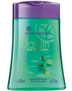 Yves Rocher Jardin Des Nymphes Hair And Body Wash
