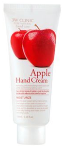 3W Clinic Moisturizing Apple Hand Cream