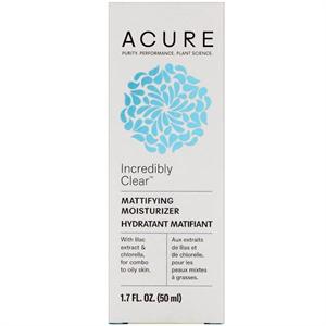 Acure Organics Incredibly Clear Mattifying Moisturizer