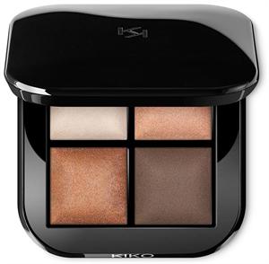 Kiko Bright Quartet Baked Eyeshadow Palette