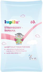 Lupilu Strawberry-Banana Nedves Toalettpapír