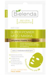 Bielenda Skin Clinic Professional Aktív Korrigáló Hidroplasztikus Anatómiai Arcmaszk