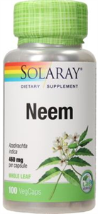 Solaray Neem Kapszula
