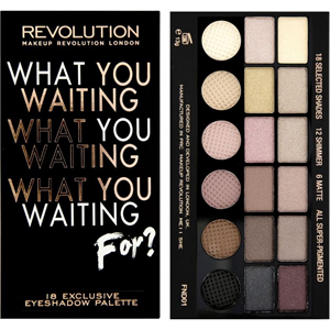 MakeUp Revolution What Have You Been Waiting For? Paletta