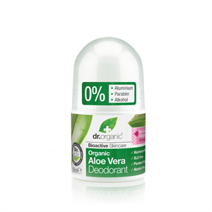 dr. Organic Alumíniummentes Golyós Dezodor Bio Aloe Verával