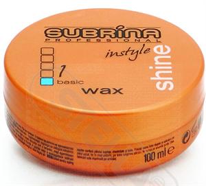 Subrina Professional Instyle Shine Hajformázó Wax