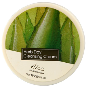 Thefaceshop Herb Day Cleansing Cream - Aloe