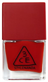 3 Concept Eyes Red Recipe Long Lasting Nail Lacquer