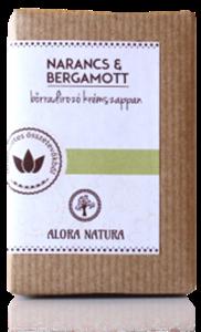 Alora Natura Narancs-Bergamott Szappan Kókuszreszelékkel