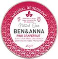 Ben & Anna Pink Grapefruit Natúr Tégelyes Krémdezodor