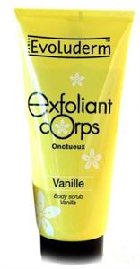 Evoluderm Exfoliant Corps Body Scrub Vanille