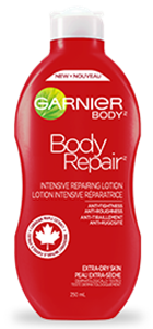 Garnier Bőrregeneráló Testápoló Tej Extra Száraz Bőrre