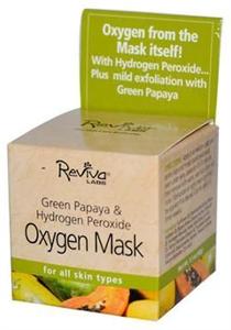 Reviva Green Papaya & Hydrogen Perxide Oxigen Mask