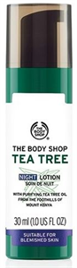 The Body Shop Teafaolajos Éjszakai Arckrém