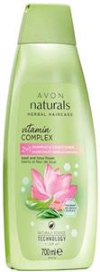 Avon Naturals Bazsalikom és Lótuszvirág 2 az 1-ben Sampon és Balzsam