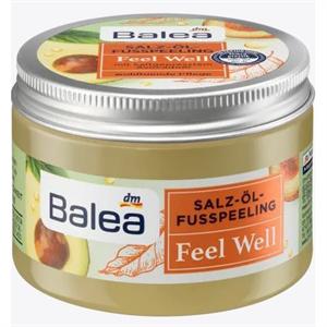 Balea Feel Well Olajos-Sós Lábradír Hidegen Préselt Avokádóolajjal