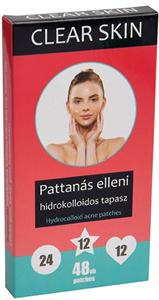 Clear Skin Pattanás Elleni Tapasz