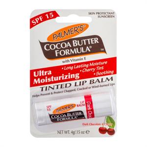 Palmer's Dark Chocolate & Cherry Ultra Moisturizing Tinted Lip Balm SPF15