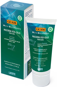 GUAM Microbio Cellulaire Méregtelenítő Arc- és Nyakmaszk