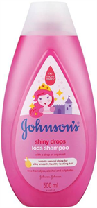 Johnson's Baby Shiny Drops Sampon