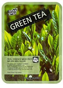 May Island Green Tea Real Essence Mask Pack