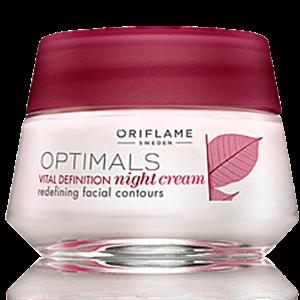 Oriflame Optimals Vital Definition Éjszakai Krém