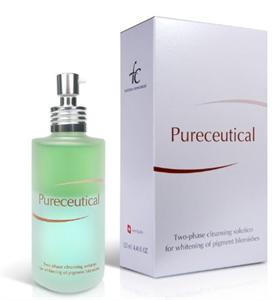 FC Pureceutical Kétfázisú Pigmentfolthalványító Arclemosó