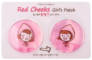 Tonymoly Red Cheeks Girl's Patch