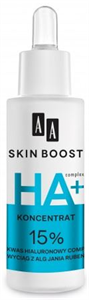 AA Skin Boost 15% Hyaluronsav Komplex + Jania Rubens Alga Szérum