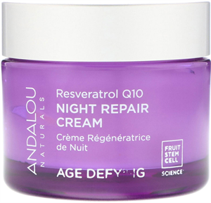 Andalou Naturals Age Defying Resveratrol Q10 Night Repair Cream