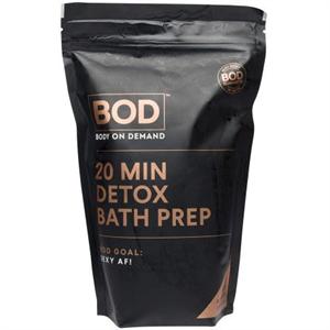 BOD 20 Min Detox Bath Prep