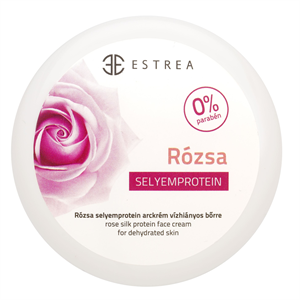 Estrea Rózsa Selyemprotein Arckrém Vízhiányos Bőrre
