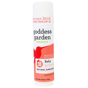 Goddess Garden Organics Baby Natural Sunscreen Stick SPF30