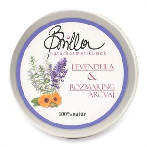 Brilla Levendula & Rozmaring Arcvaj Argán Olajjal