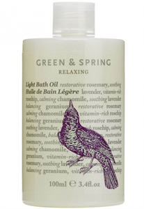 Green & Spring Relaxing Light Bath Oil