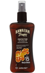 Hawaiian Tropic Napolaj Spray SPF15