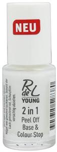 Rdel Young 2in1 Peel Off Base & Colour Stop Lehúzható Alaplakk
