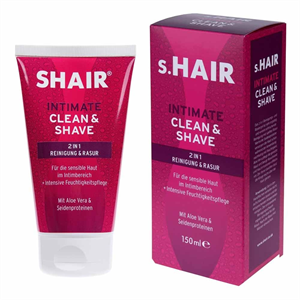 s.Hair Intimate Clean & Shave 2in1