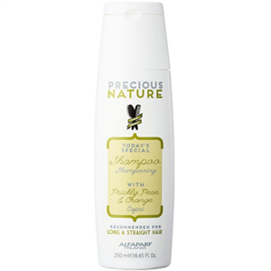 Alfaparf Precious Nature Shampoo With Prickly Pear & Orange For Long & Straight Hair