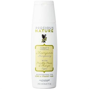 Alfaparf Precious Nature Shampoo With Prickly Pear & Orange For Long & Straight Hair