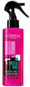 L'Oreal Paris Studio Line Hot & Big Hővédő Spray