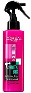 L'Oreal Paris Studio Line Hot & Big Hővédő Spray