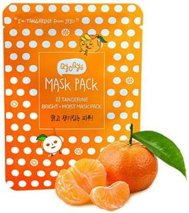 Qyo Qyo Tangerine Bright + Moist Maszk