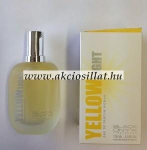 Black Onyx Yellow Light Woman