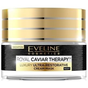 Eveline Royal Caviar Therapy Luxury Ultra-Restorative Cream-Mask Night