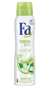 Fa Fresh&Dry Green Tea Deo Spray