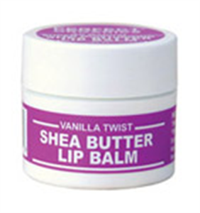 Perfect Organics Shea Butter Lip Balm Vanilla Twist